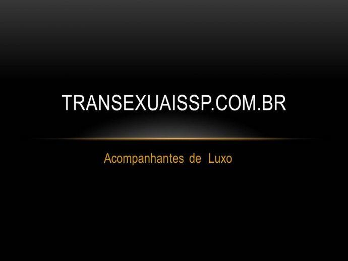 Acompanhantes de Luxo - SP